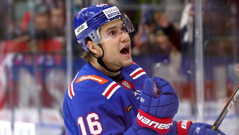 """Divi SKA spēlētāji pirms mača pret Rīgas """"Dinamo"""" atzīti par KHL nedēļas labākajiem"""
