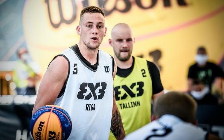 """""""Riga"""" 3x3 basketbolisti ar trim uzvarām iesoļo """"Moscow Open"""" ceturtdaļfinālā"""