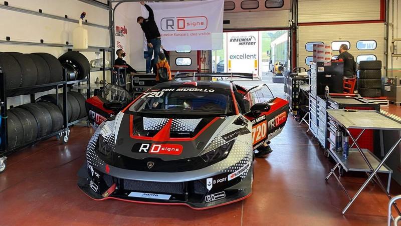 Artūrs Batraks ar ''Lamborghini'' startēs 12 stundu izturības sacīkstēs Itālijā