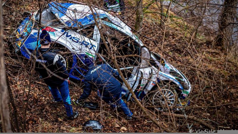 Somu sportists Lapzemes WRC rallijā cer labot savu kļūdu (+video)