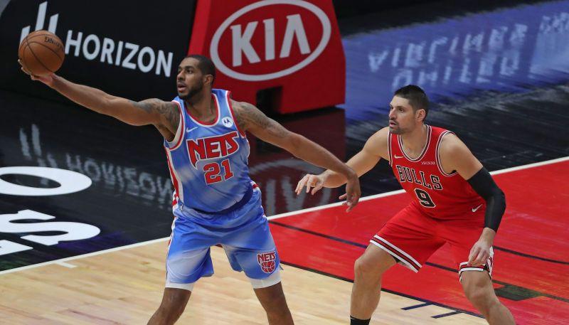 """Vučevičam 22+13 """"Bulls"""" uzvarā pret """"Nets""""; Rondo debijā """"Clippers"""" pārspēj """"Lakers"""""""