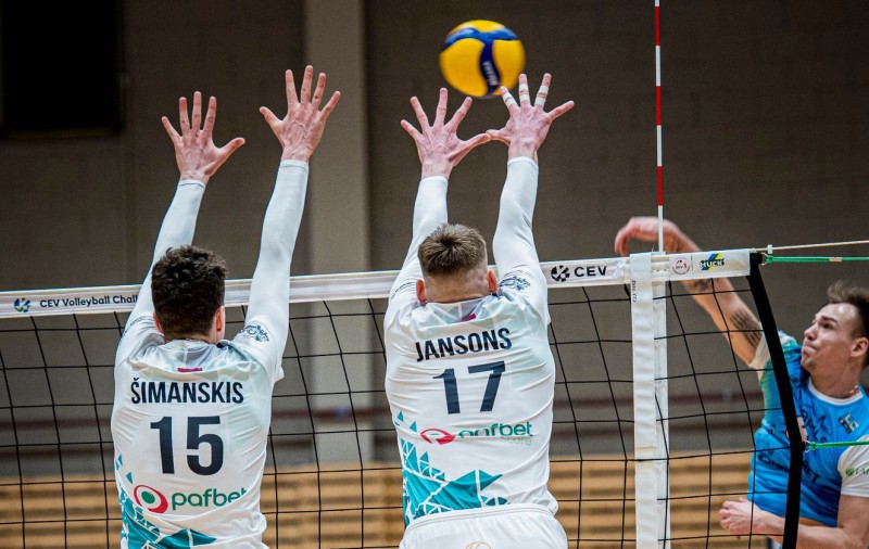Jēkabpils un Jūrmalas volejbolistu duelis turpināsies Baltijas līgā