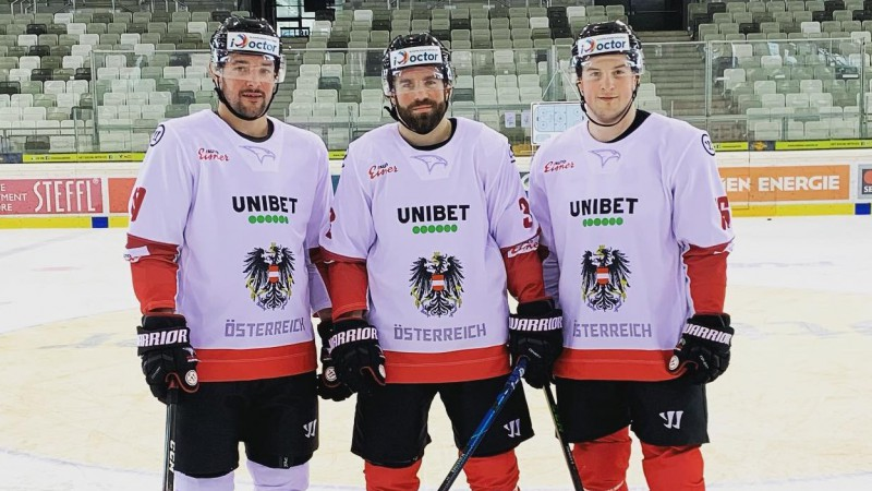 Austrijas hokejisti pārbaudes spēlē ar minimālu pārsvaru pieveic Ungāriju