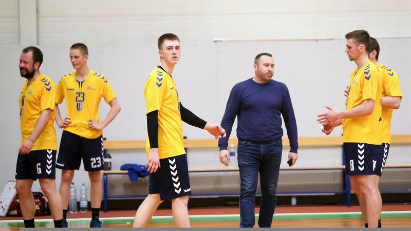 Vienīgajā handbola virslīgas spēlē ''Latgols'' uzvar ''Jūrmalas sportu''