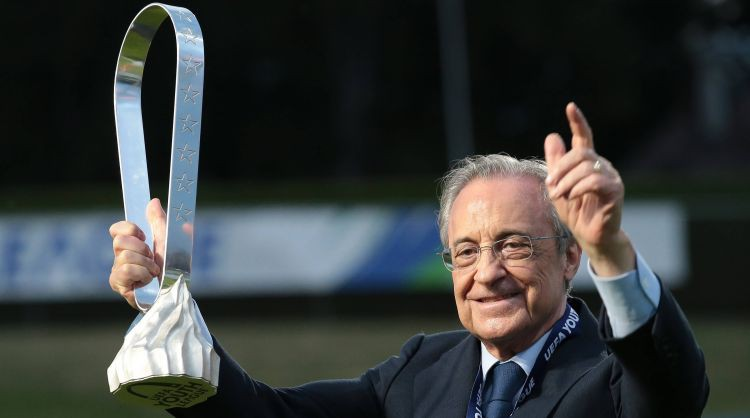 """""""Real Madrid"""" prezidents Peress: """"Superlīga nav bagāto līga. Tā ir līga, kas izglābs futbolu"""""""