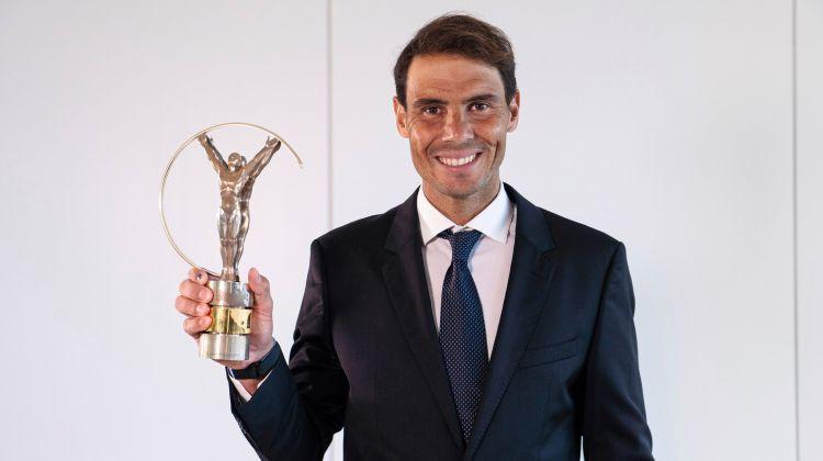 """Ceturto reizi """"Laureus"""" vēsturē dominē teniss – balvas saņem Nadals un Osaka"""