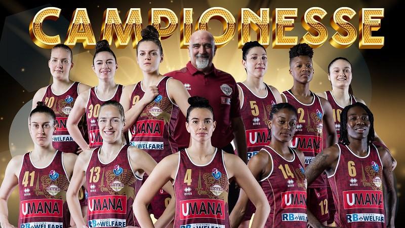 """Laura Meldere un """"Venezia"""" pēc 75 gadu pauzes triumfē Itālijas čempionātā"""