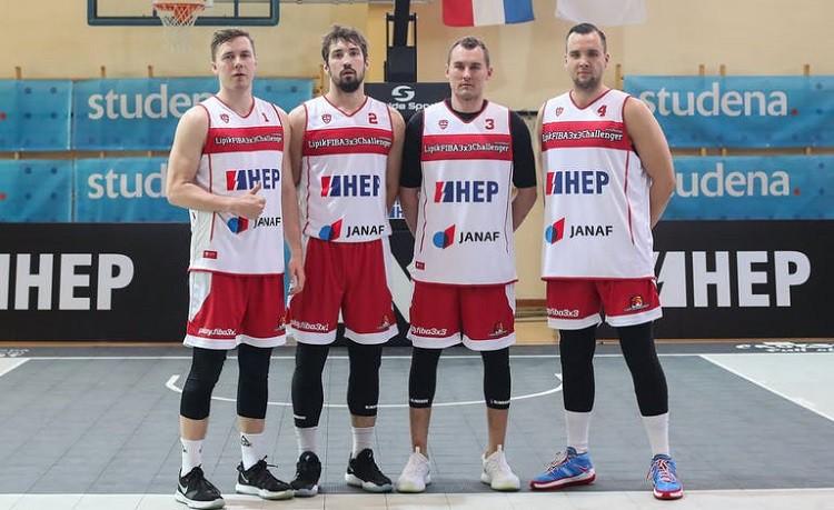 """""""Jelgava"""" 3x3 basketbolistiem ar uzvaru pār """"NY Harlem"""" nepietiek vietai 1/4 finālā"""