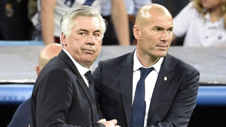 """Ančeloti atgriežas """"Real Madrid"""" un pie komandas stūres aizvietos Zidānu"""