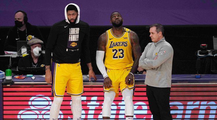 """""""Lakers"""" treneris: """"Šis sastāvs būtu varējis nosargāt titulu, ja vien nebūtu traumu"""""""