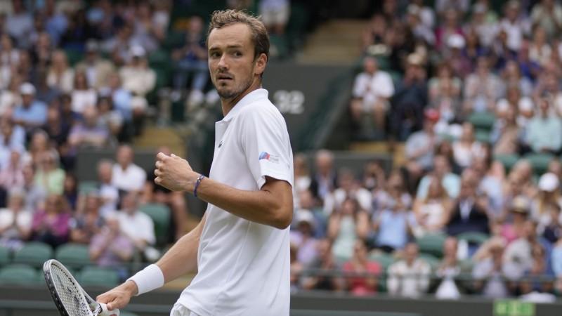 Medvedevam duelis ar Čiliču, Federers tiksies ar pēdējo mājinieku Noriju