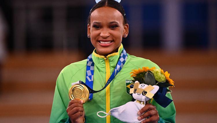 Andrade atnes Brazīlijai pirmo medaļu vingrošanā olimpisko spēļu vēsturē