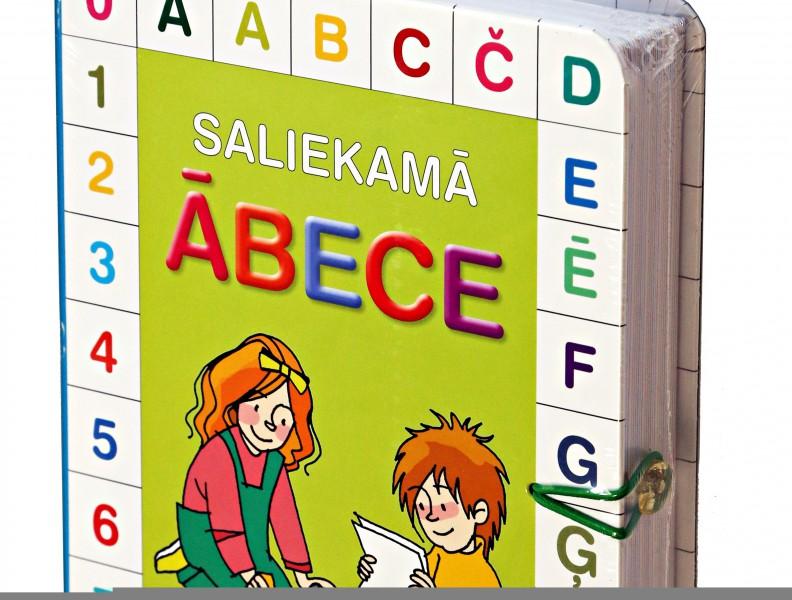 """""""Saliekamā ābece"""" – latviešu autoru radīta maziem gudriniekiem un viņu vecākiem"""