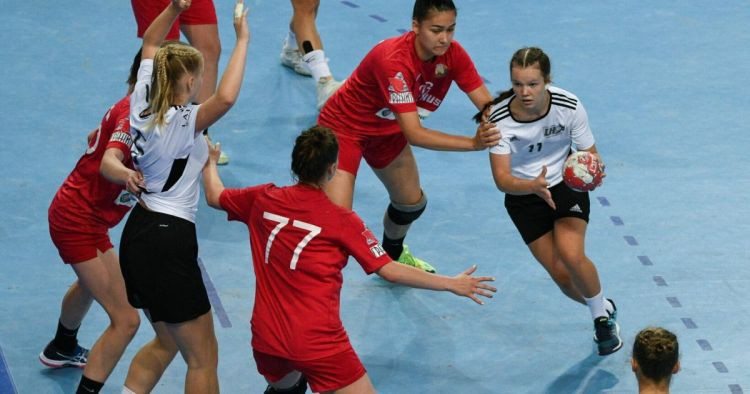 Latvijas U17 handbolistes EČ B divīziju turpina ar trešo zaudējumu
