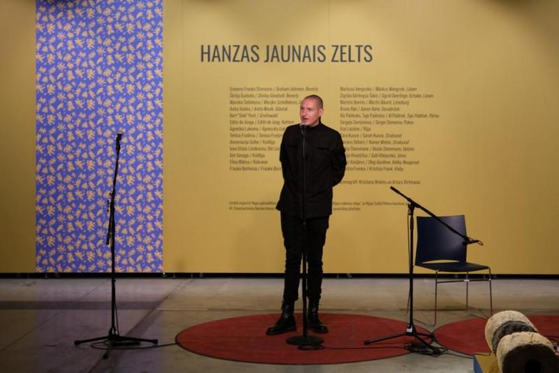 """Rīgas mākslas telpā atklāta un skatāma izstāde """"Hanzas jaunais zelts"""""""