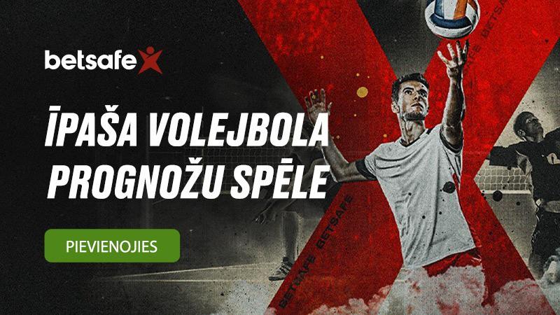 Piedalies BETSAFE EČ volejbola prognožu spēlē!