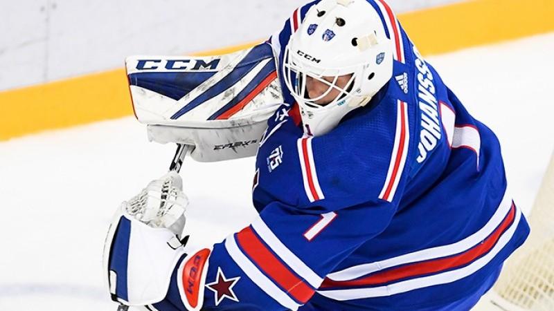 KHL nedēļas atzinību nopelna visus metienus atvairījušais Juhansons un kanādietis-kazahs